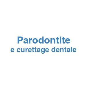 Parodontite e curettage dentale