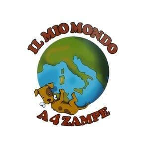 logo Il Mio Mondo A 4 Zampe di Mattivi Daniela