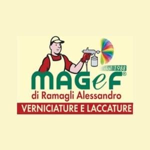 logo MaGef sas Verniciature di Ramagli Alessandro