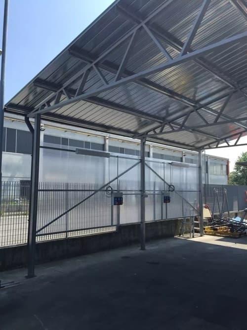costruzione tettoia
