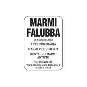 logo Marmi Falubba di Ferrario Alan